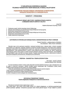 program praktyki pedagogicznej - Akademia Pedagogiki Specjalnej
