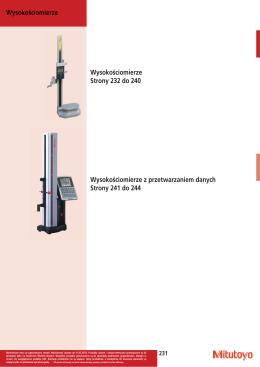 8. Przyrządy kalibracyjne i płyty pomiarowe