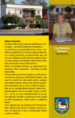 Ing. Marianna Šimková