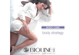 Katalóg BODY CARE - telová kozmetika na telo