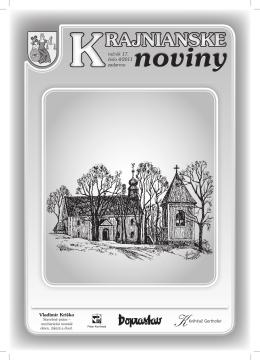 Krajnianske noviny číslo 4 (PDF – 1,6 MB)