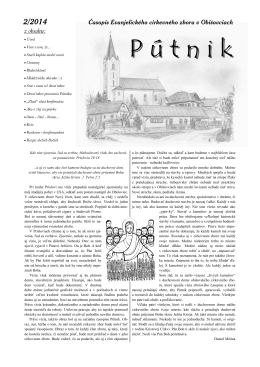 Pútnik 2/2014
