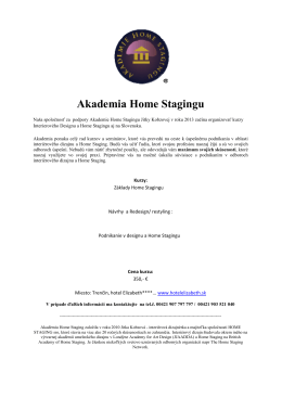Akademia Home Stagingu