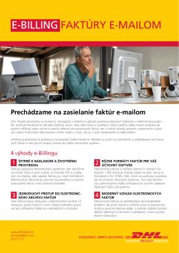Leták e-Billing v slovenčine