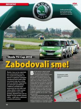 Škoda TSI Cup 2010