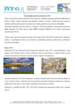 ATC - ATG Slovakia s.r.o.