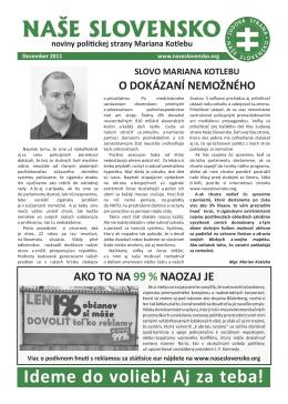 Ľudová strana Naše Slovensko