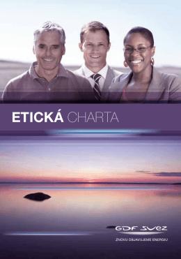ETICKÁ CHARTA