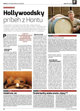 16. 12. 2012 Hollywoodsky príbeh z Hontu