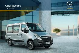 Katalóg Movano Combi/Bus
