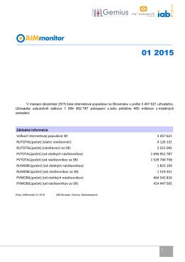 AIMmonitor január 2015