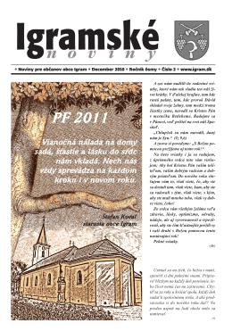 Vydanie december 2010