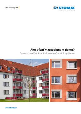 Bezplatne stiahnuť príručku: Ako bývať v zateplenom dome