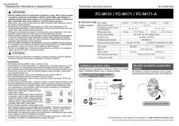 FC-M131 / FC-M171 / FC-M171-A