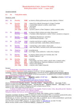 Farské oznamy od 1. do 8. marca 2015 (.pdf)