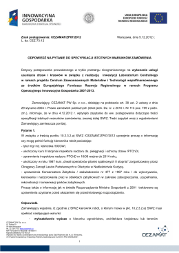 Plik PDF - USOSweb