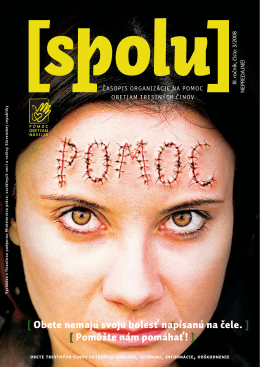 číslo 3/2008 - Pomoc obetiam násilia