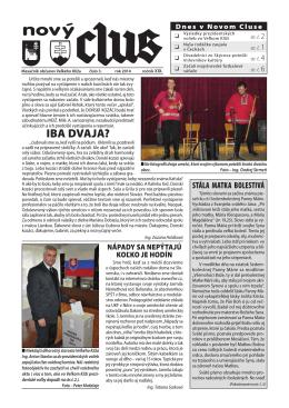 Obecné noviny č.3 - 2014