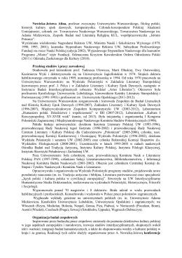 Złote Pióro 2014 - XIII Liceum Ogólnokształcące w Warszawie