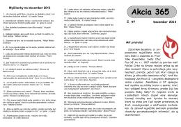 Akcii 365 na december 2013