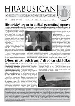 Hrabišičan 04 - obec Hrabušice