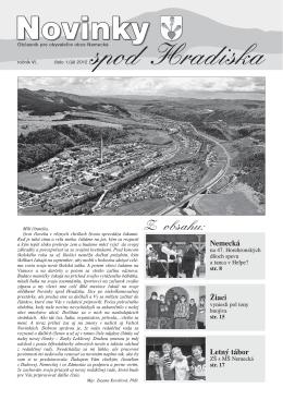 Obecné noviny 1/2012