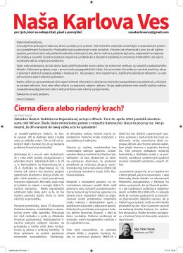 Apríl 2014 (pdf) - Naša Bratislava