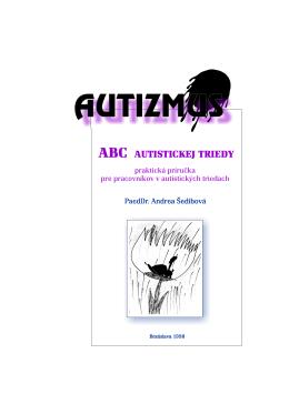 ABC autistickej triedy I.