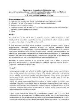 Zápisnica 4 - Šalková.sk