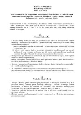 Projekt uchwał nr 20 - 23 (PDF 2,5 MB)