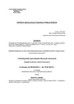 grudnia 2013 r. w sprawie uchwalenia Gminnego progr