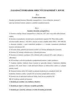 zasadací poriadok komisie oz-2015
