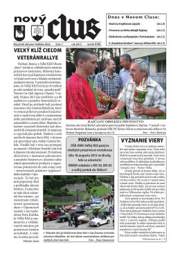 Obecné noviny č.7 - 2013