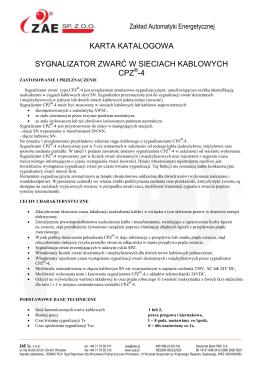 Zał. Nr 1 do projektu umowy - Samodzielny Publiczny Szpital