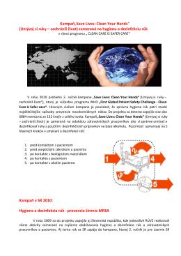 (Umývaj si ruky - zachrániš život) (pdf, 200 kB) - RÚVZ-DS
