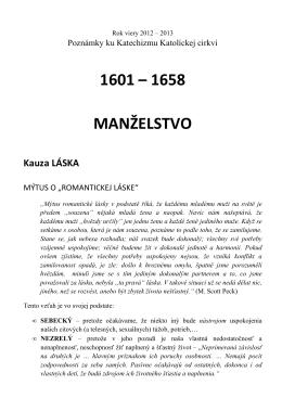 Body 1601 až 1658