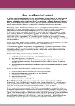 załącznik do decyzji nr 3./PRN/2011 prorektora ds. naukowych z