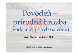prezentácia M. Hazlinger