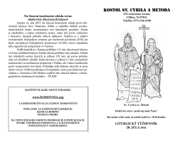 Kostol sv. Cyrila a Metoda - SS Cyril Methodius Church