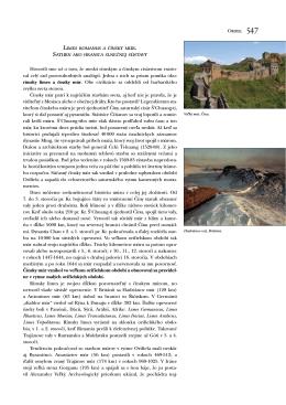 Limes romanus a čínsky múr. Saturn ako hranica slnečnej