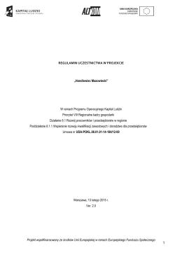 Samodzielny Publiczny Proszowice, dnia 21.11.2013 r. Zespół