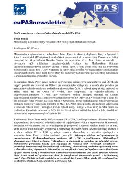 Profil a rozhovor o zóne voľného obchodu medzi EÚ a USA