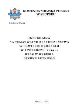 Prezentacja - Gmina Stare Babice w 2014 roku
