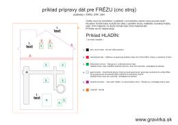 www.gravirka.sk príklad prípravy dát pre FRÉZU (cnc stroj)