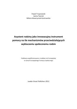 Asystent Kierownika Projektu pt. - iCSE