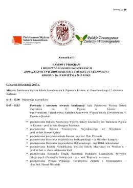 Komunikat 1.1 - RSMP - 1. Rajd Arłamów 6