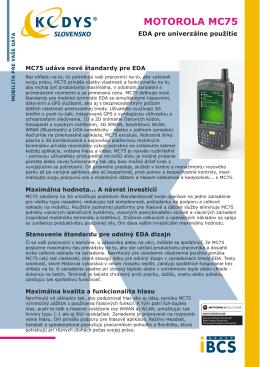 Prospekt Motorola MC75 (.pdf)