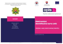 Elektronická identifikačná karta (eID)