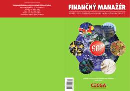 Finančný manažér 4/2013 - Slovenská asociácia podnikových
