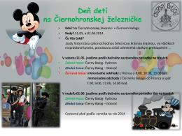 Deň detí na Čiernohronskej železničke